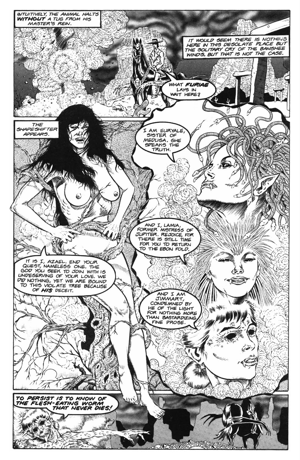 Read online Gunfighters in Hell comic -  Issue #2 - 16