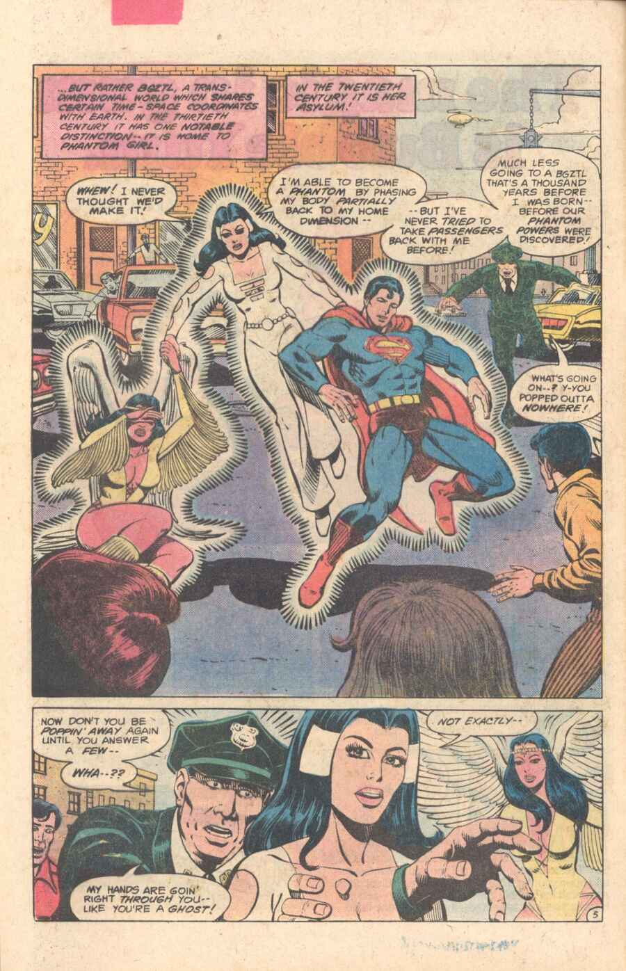 Legion of Super-Heroes (1980) 282 Page 5