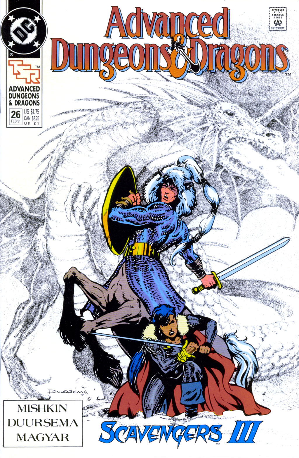 Read online Advanced Dungeons & Dragons comic -  Issue #26 - 1