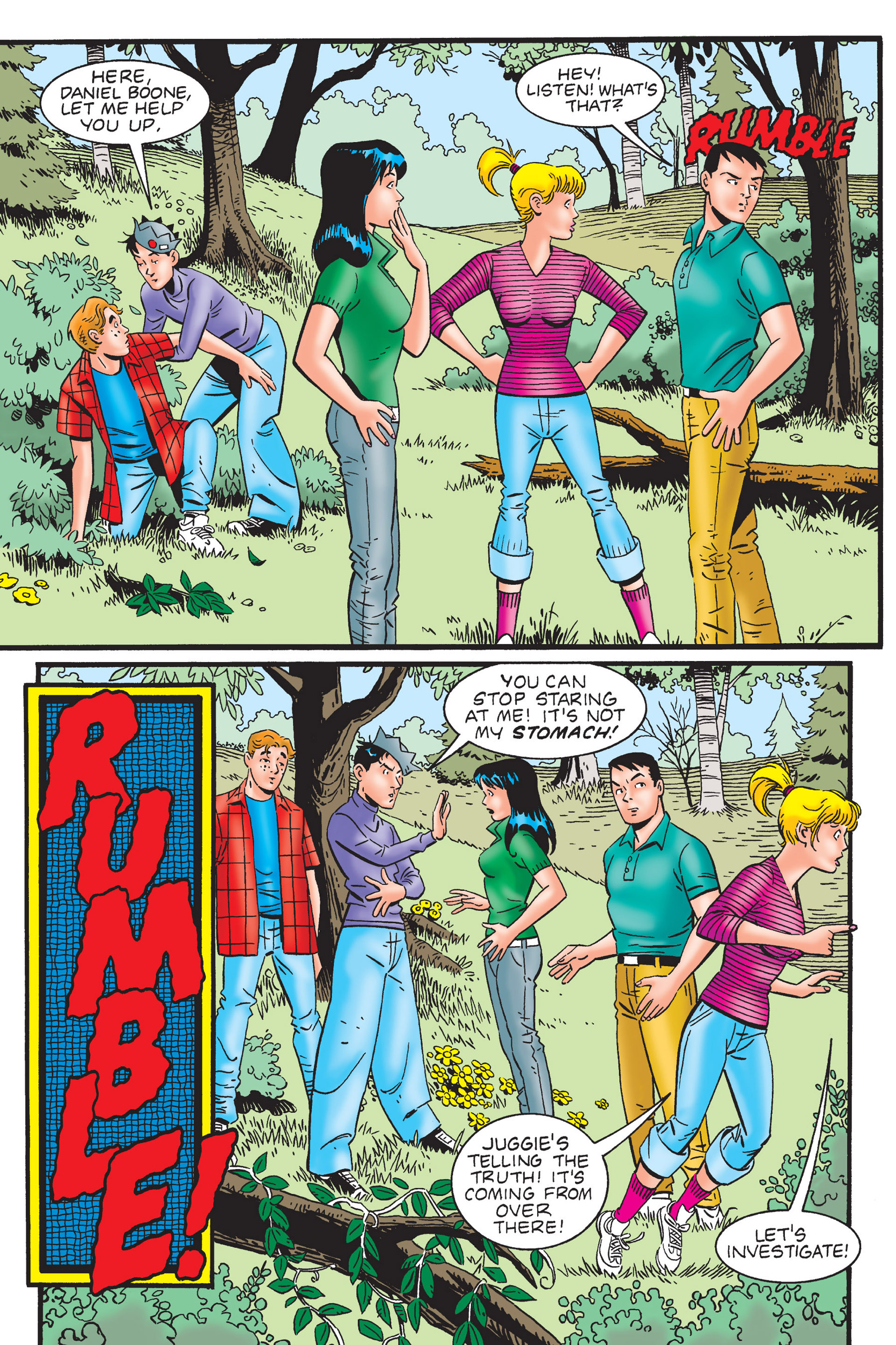 Read online Archie's New Look Series comic -  Issue #4 - 14