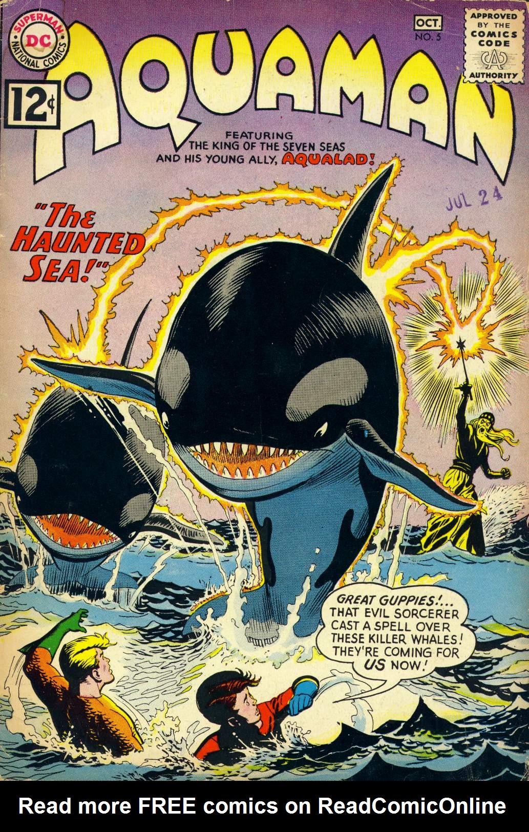 Read online Aquaman (1962) comic -  Issue #5 - 1