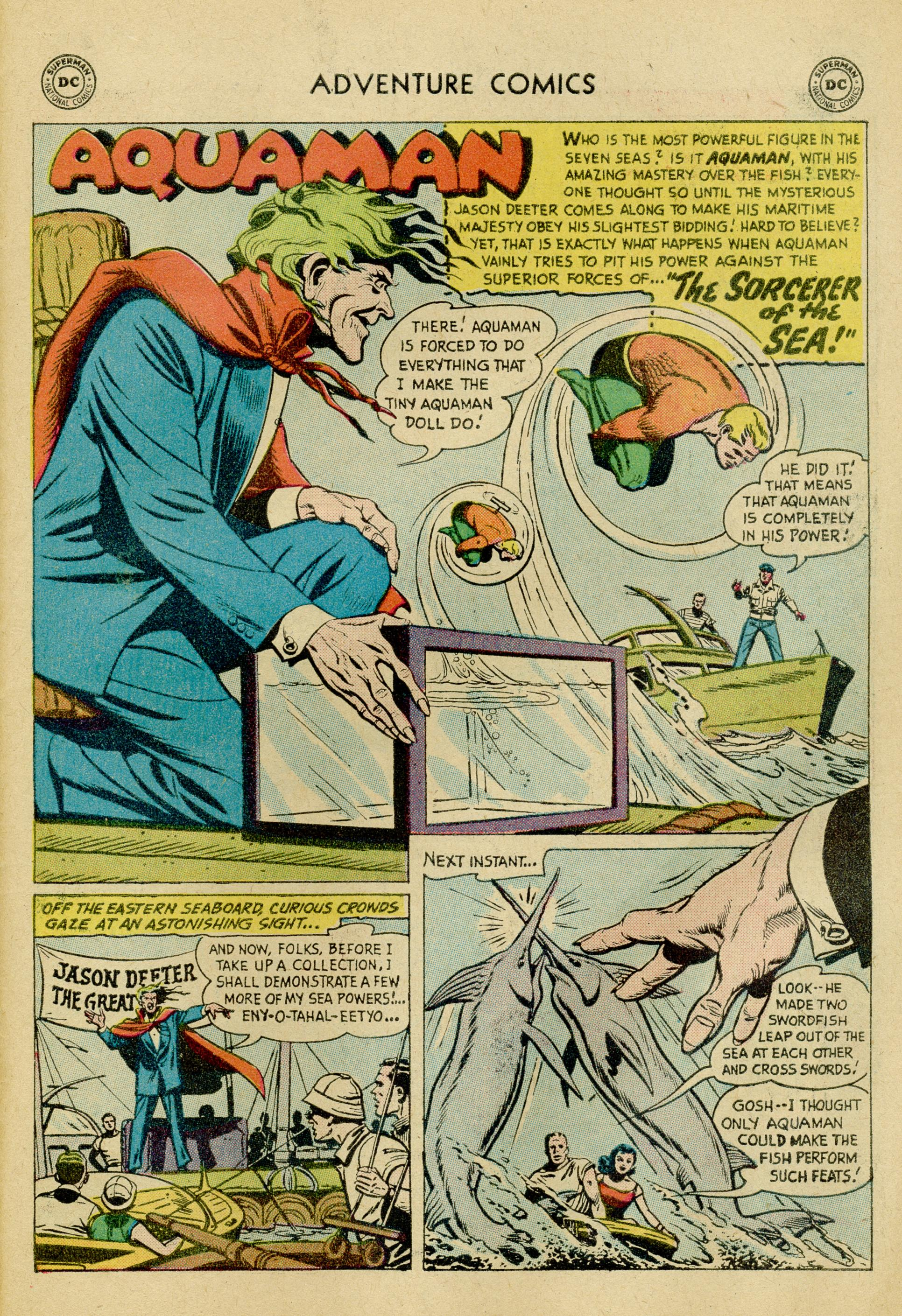 Read online Adventure Comics (1938) comic -  Issue #245 - 27