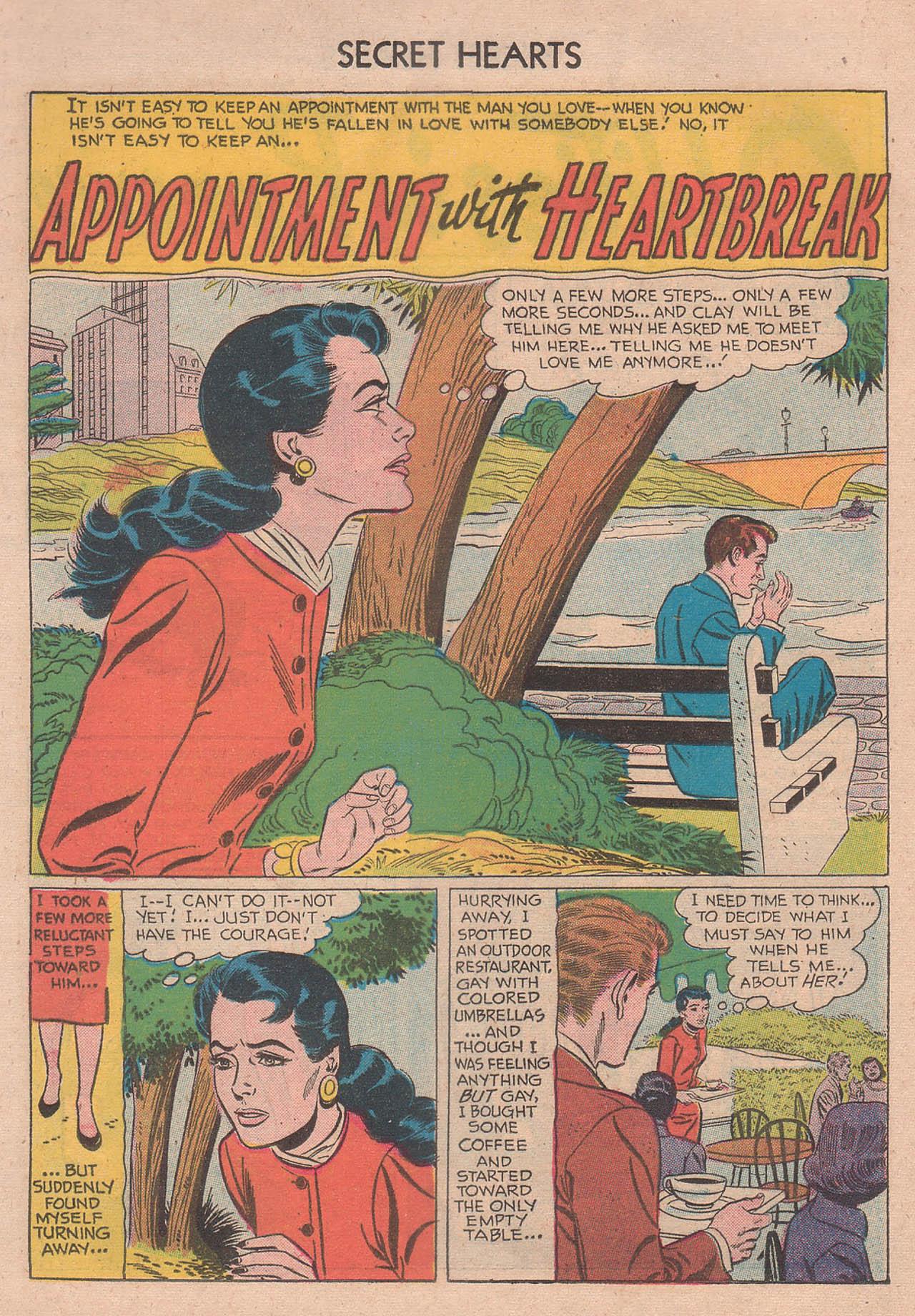 Read online Secret Hearts comic -  Issue #39 - 20