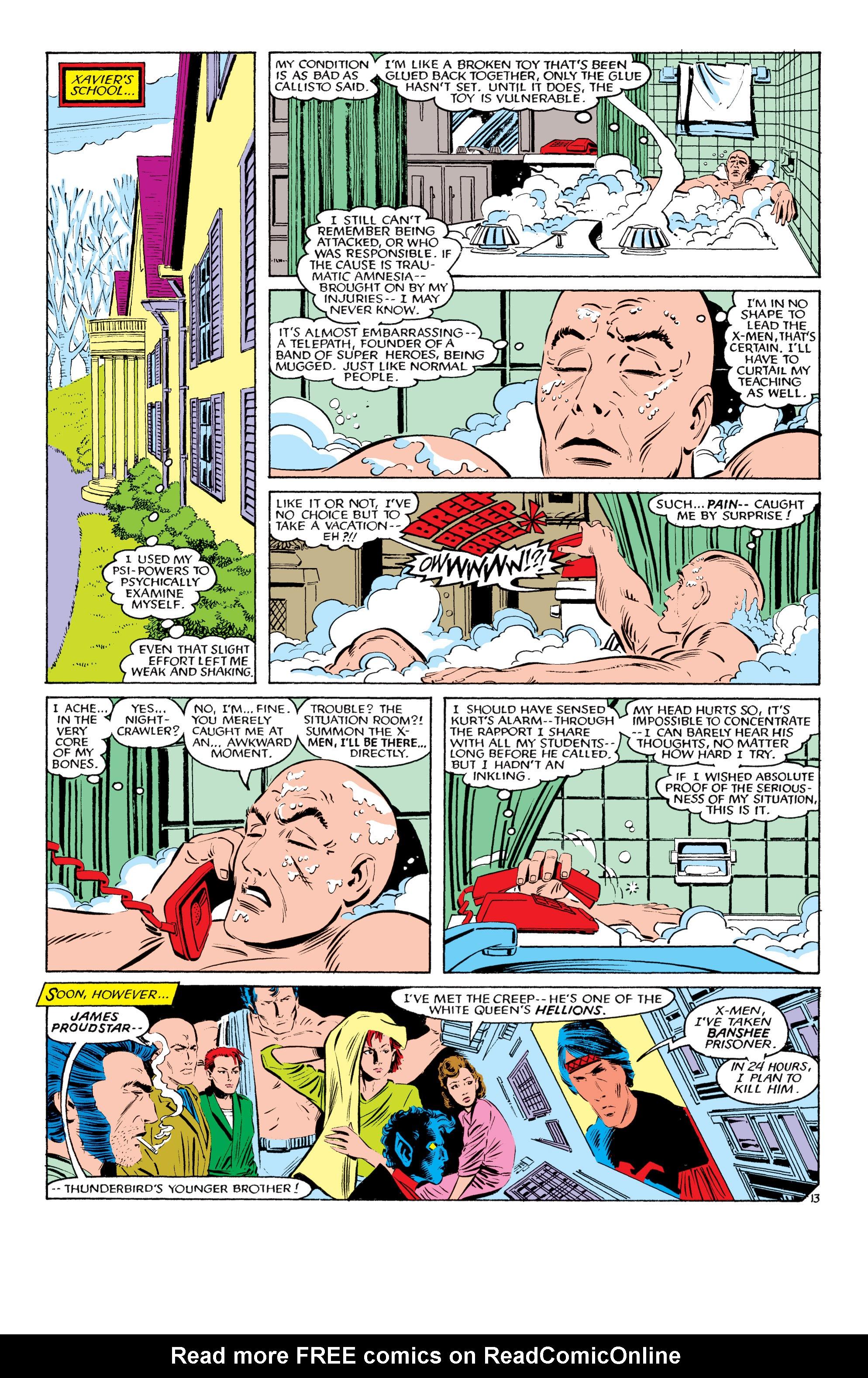 Read online Uncanny X-Men (1963) comic -  Issue #193 - 14