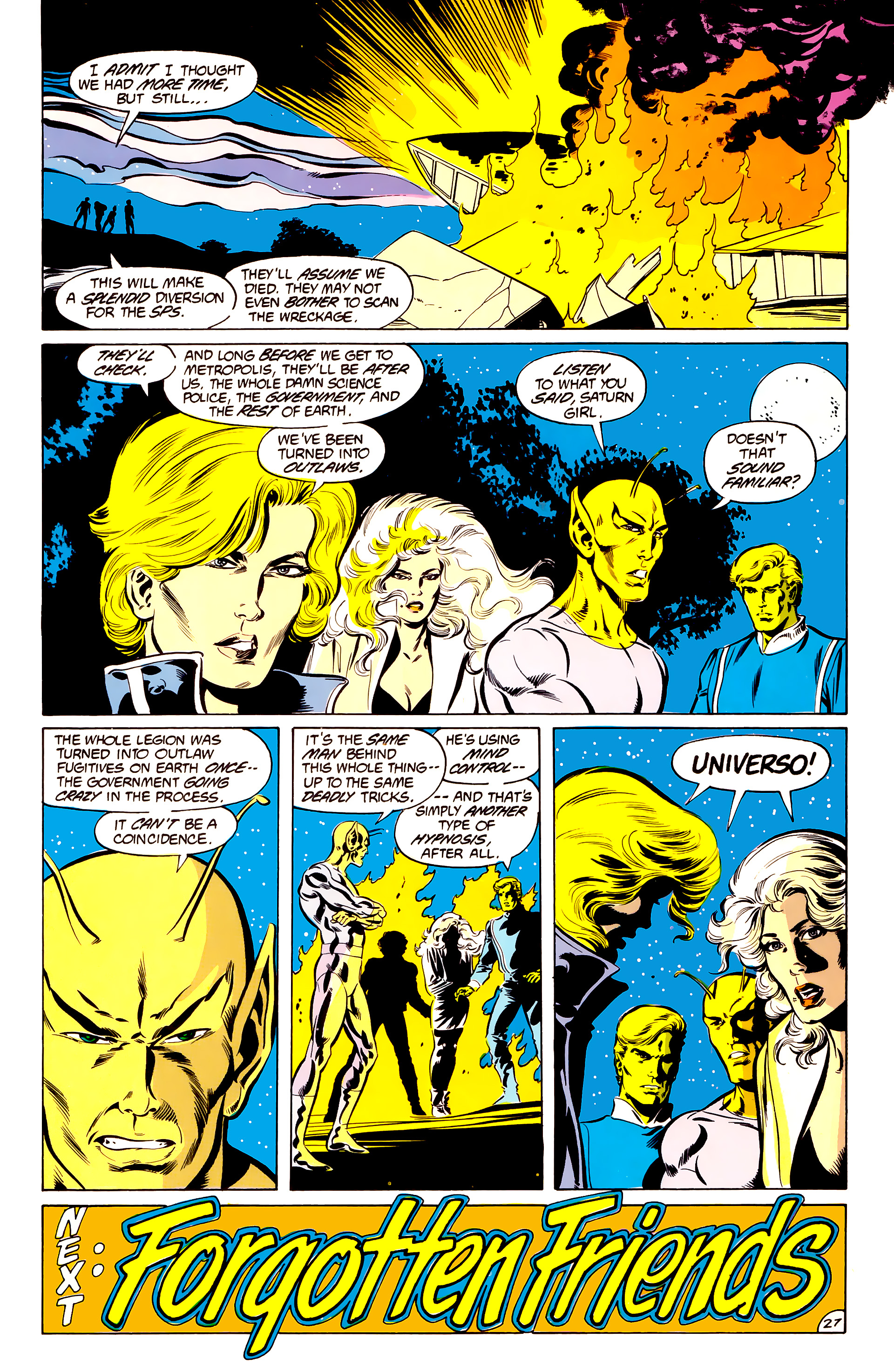 Legion of Super-Heroes (1984) 34 Page 27