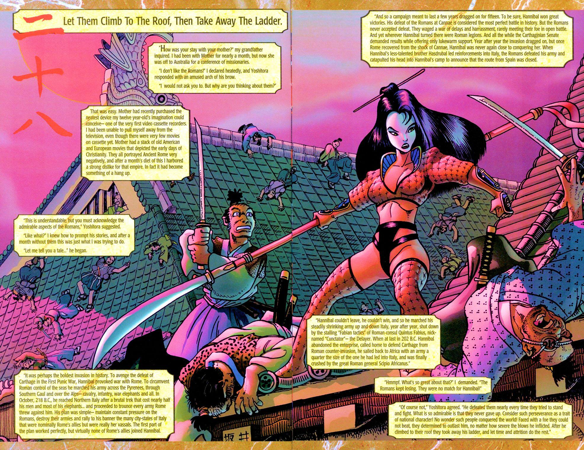 Read online Shi: Senryaku comic -  Issue #3 - 8