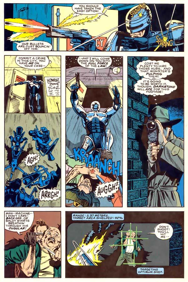 Read online Robocop (1990) comic -  Issue #1 - 5