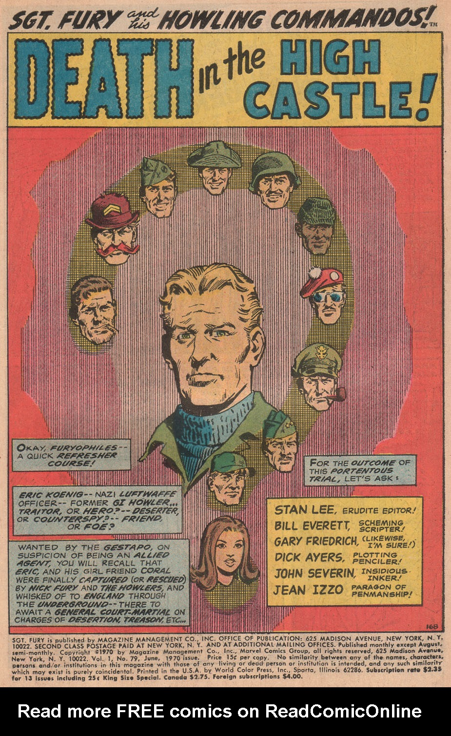 Read online Sgt. Fury comic -  Issue #79 - 3