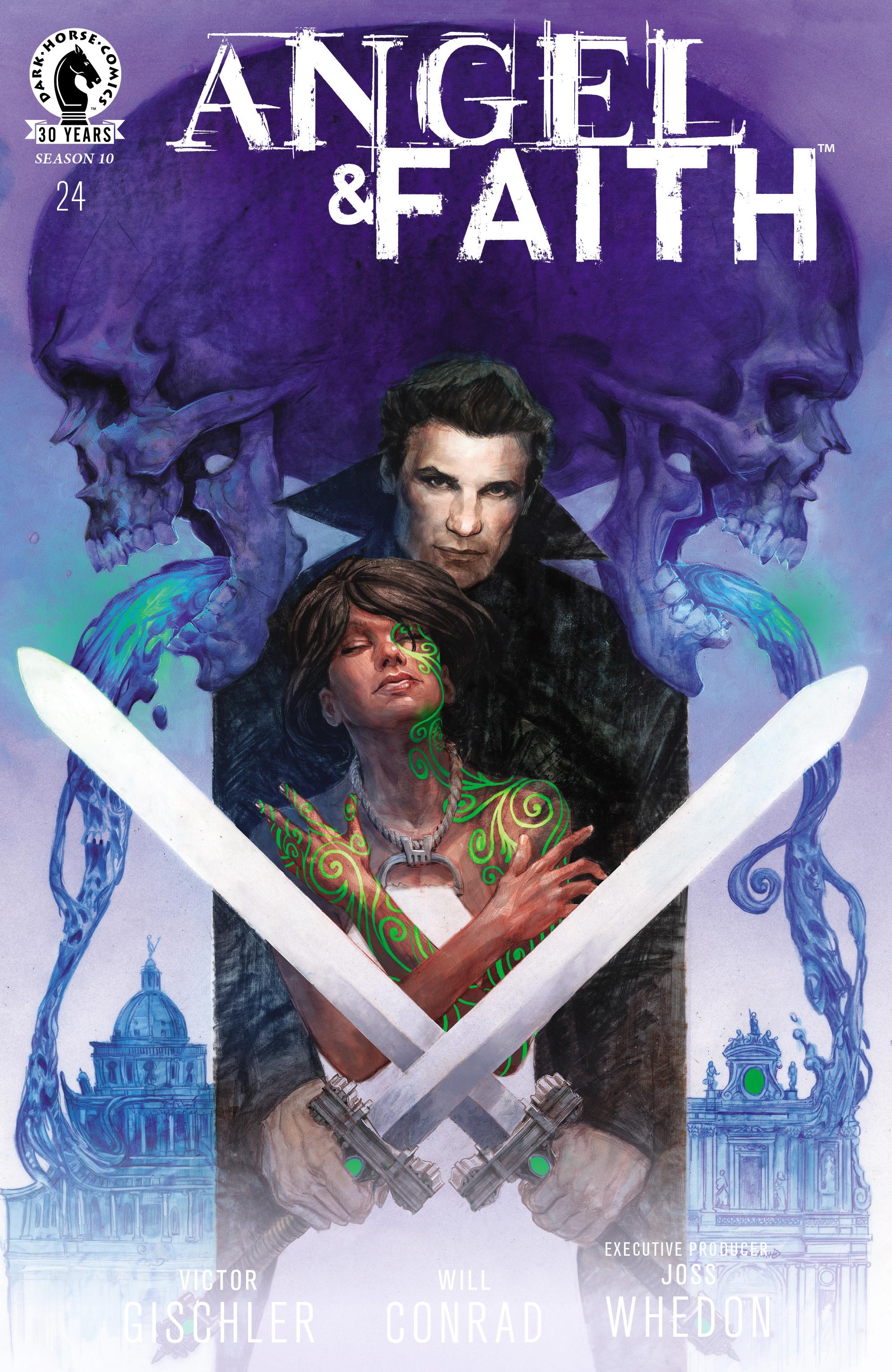 Read online Angel & Faith Season 10 comic -  Issue #24 - 1