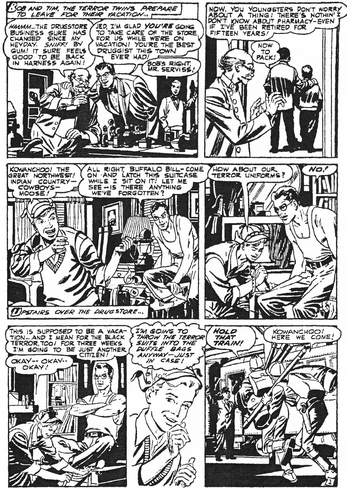 Read online Men of Mystery Comics comic -  Issue #84 - 6