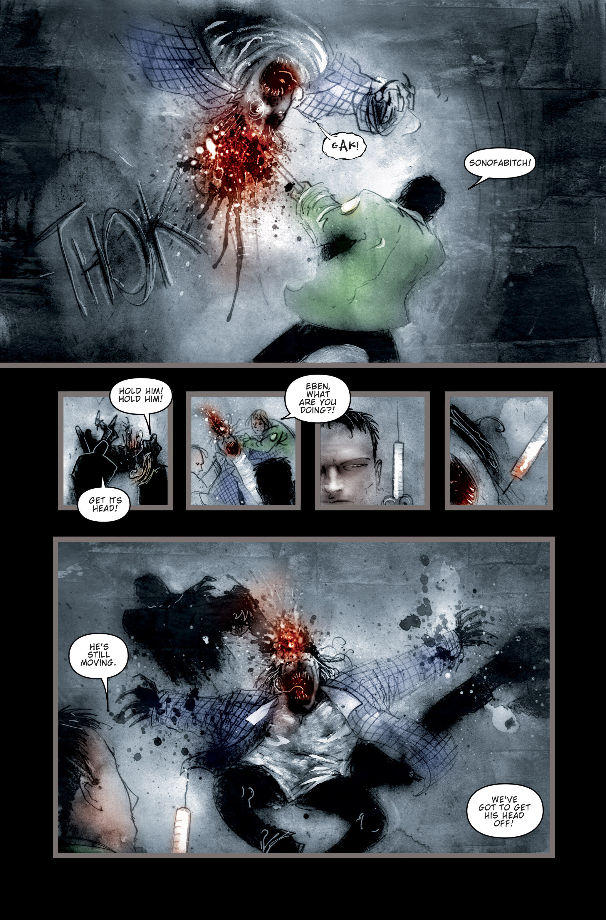 Read online 30 Days of Night (2002) comic -  Issue #3 - 6