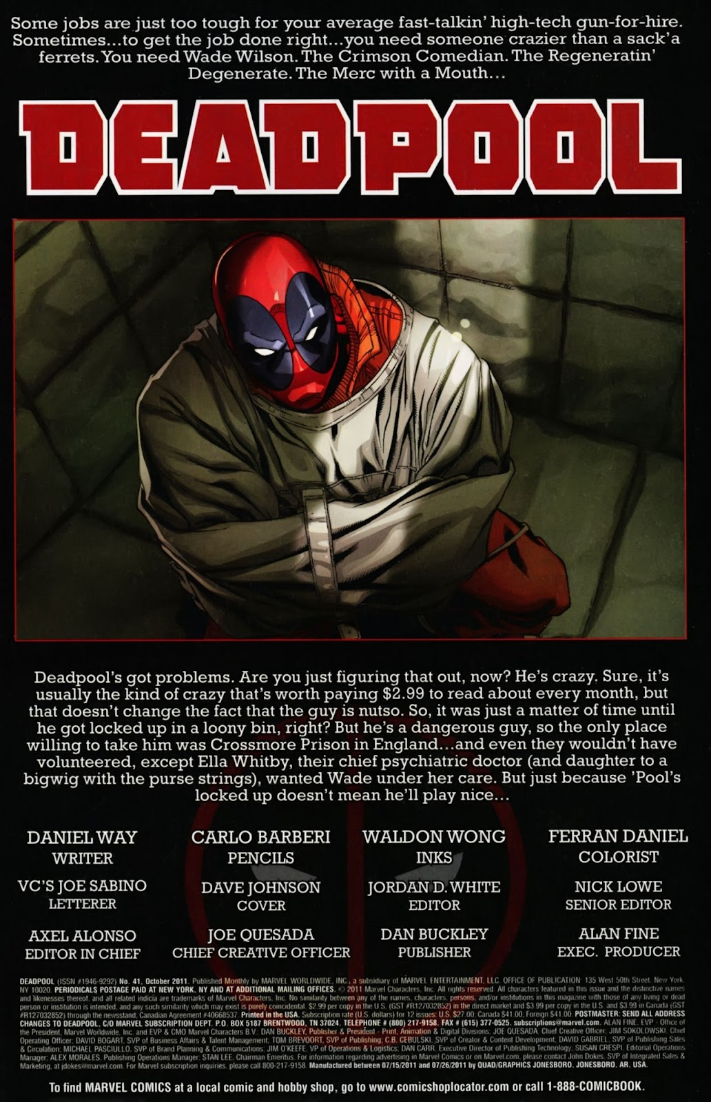 Read online Deadpool (2008) comic -  Issue #41 - 2