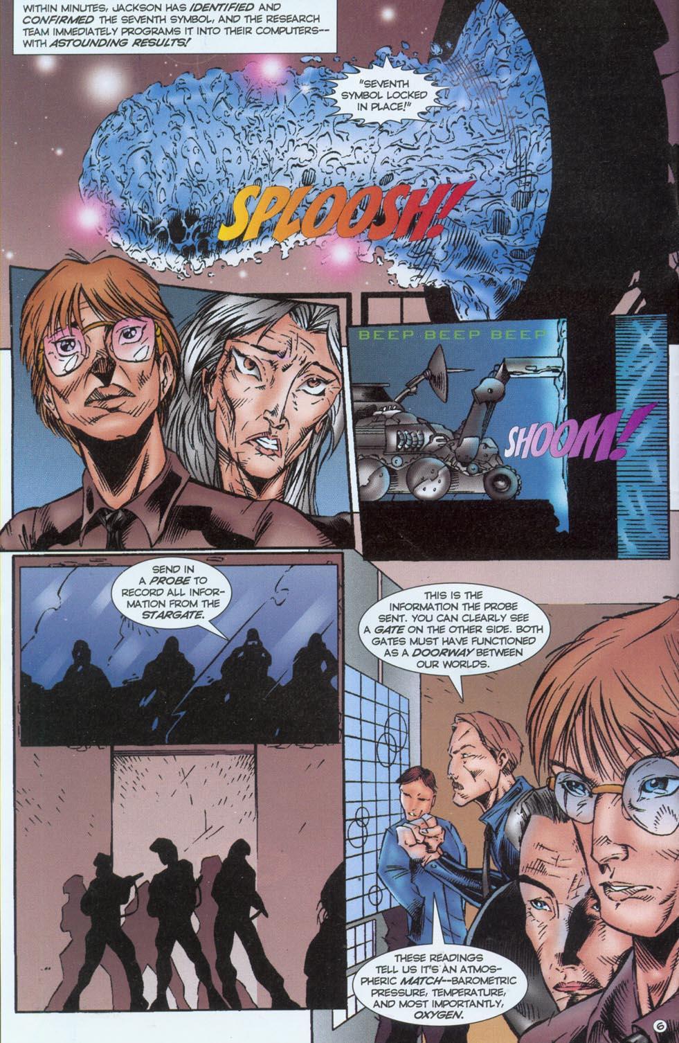 Read online Stargate comic -  Issue #1 - 8