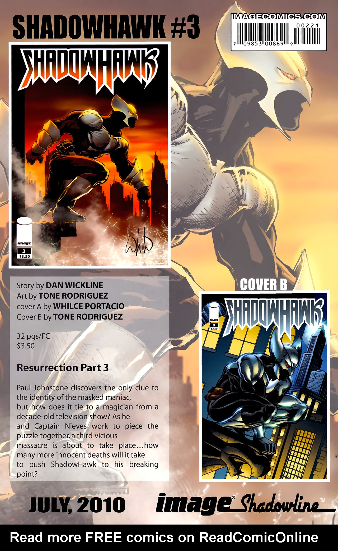 Read online ShadowHawk (2010) comic -  Issue #2 - 29