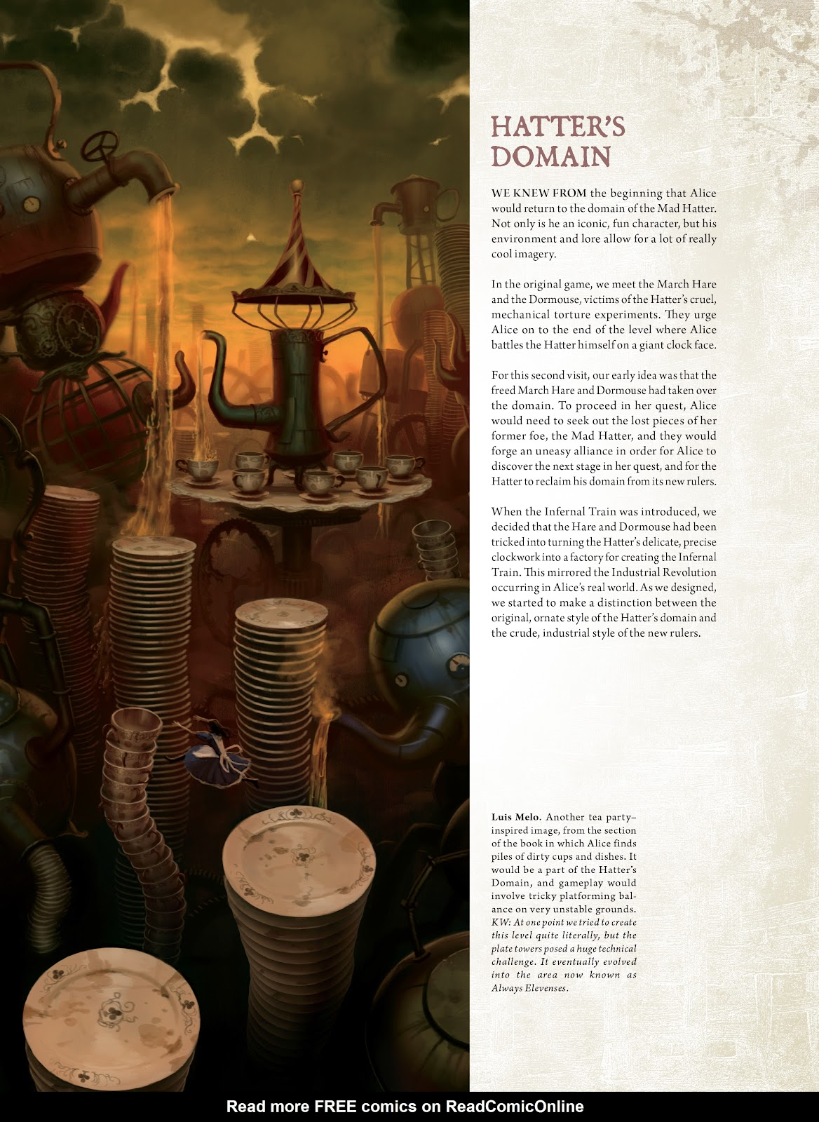 Read online The Art of Alice: Madness Returns comic -  Issue # TPB (Part 1) - 71