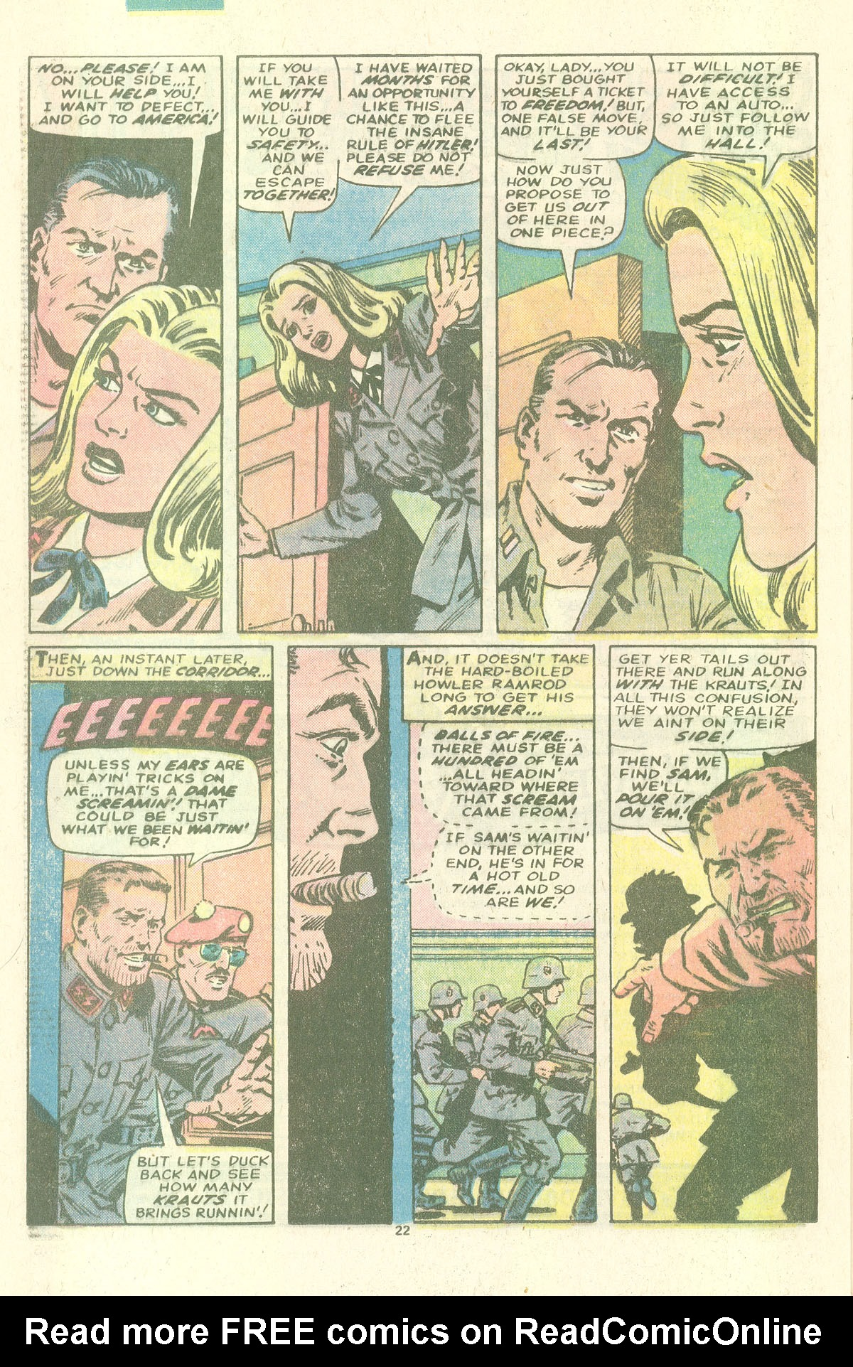 Read online Sgt. Fury comic -  Issue #157 - 24