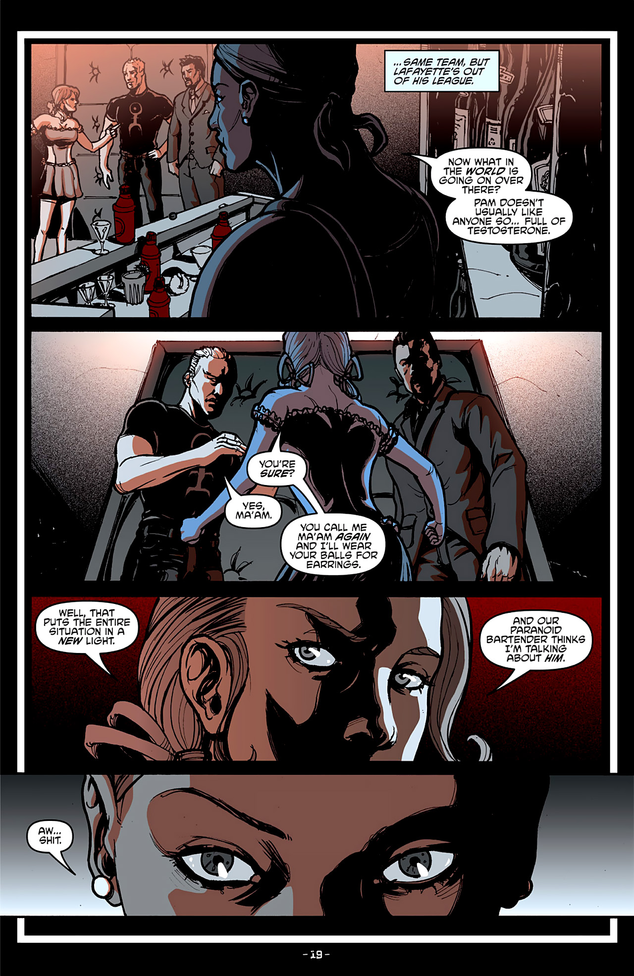 Read online True Blood: French Quarter comic -  Issue #4 - 23