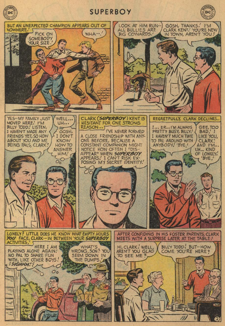Superboy (1949) issue 47 - Page 3