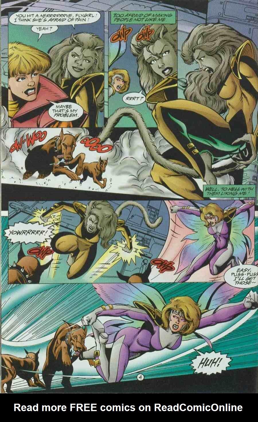 Read online Ultraverse Premiere comic -  Issue #6 - 32