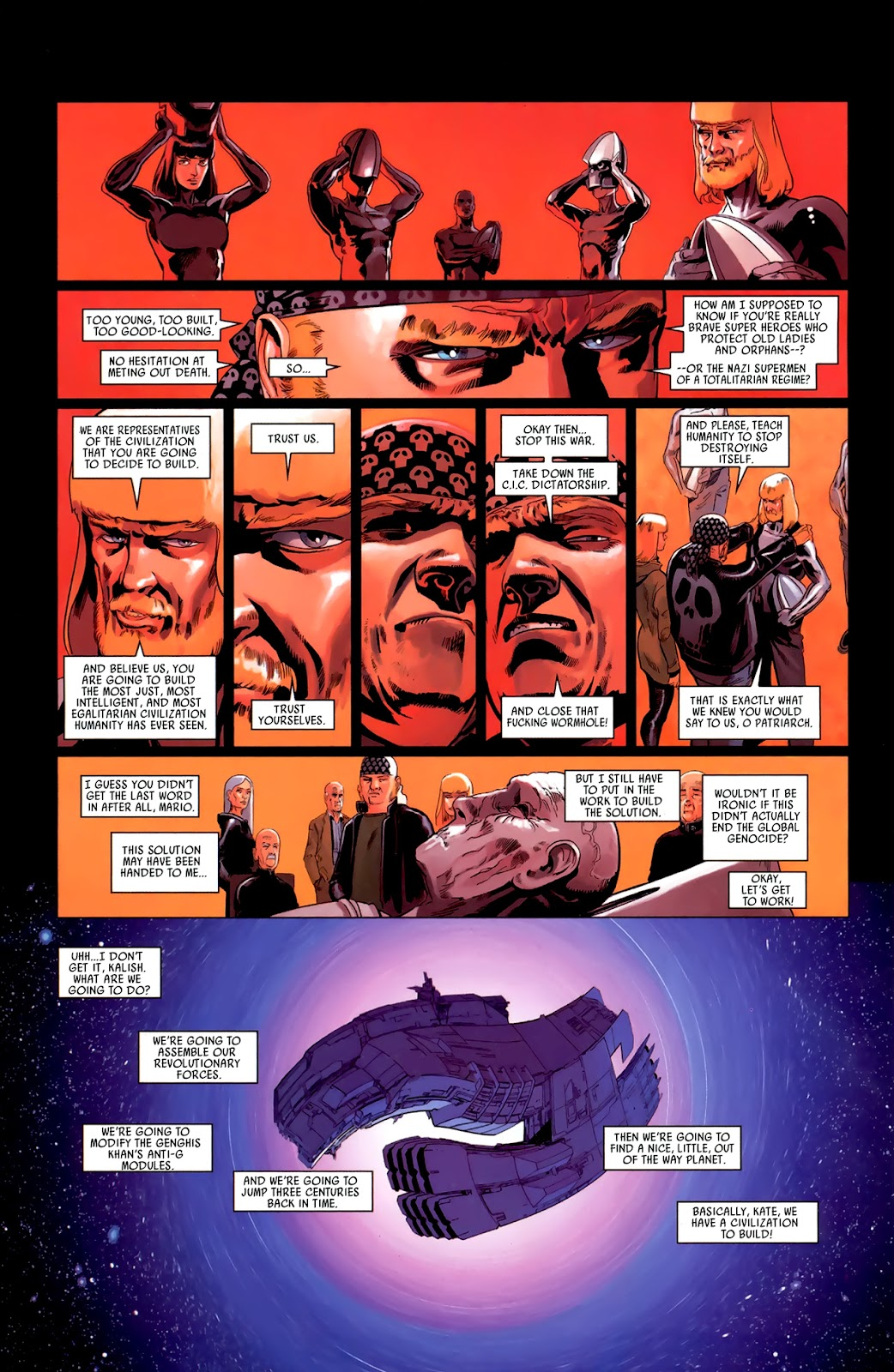 Read online Universal War One: Revelations comic -  Issue #3 - 48