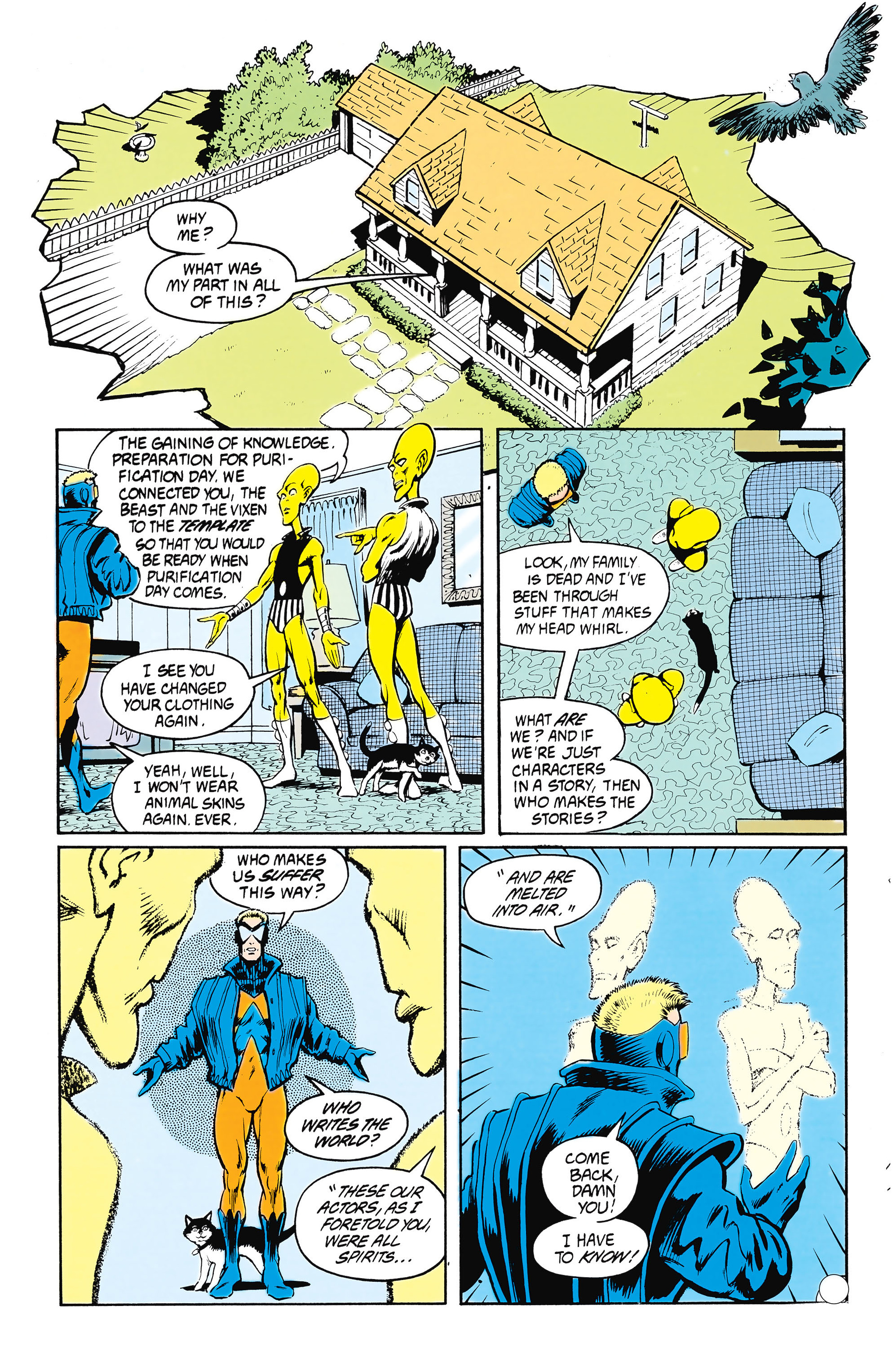 Read online Animal Man (1988) comic -  Issue #24 - 23