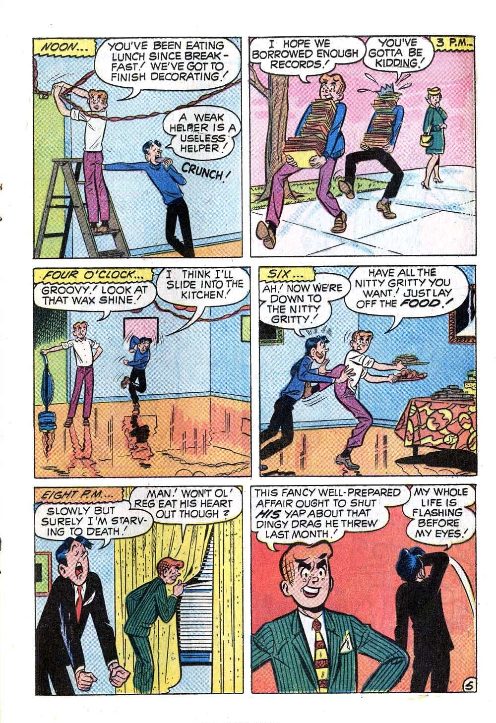 Read online Archie (1960) comic -  Issue #201 - 17