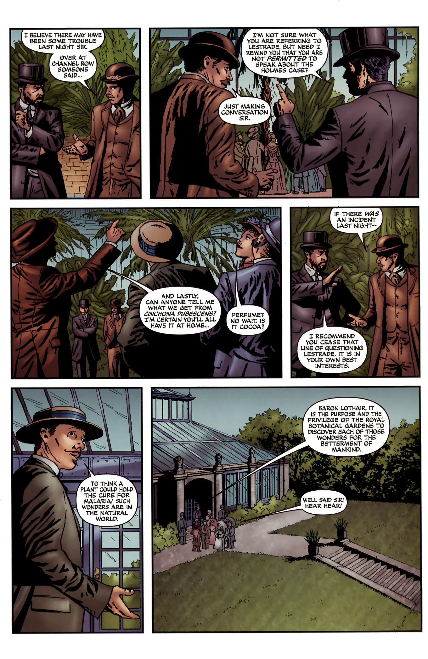 Read online Sherlock Holmes (2009) comic -  Issue #3 - 17