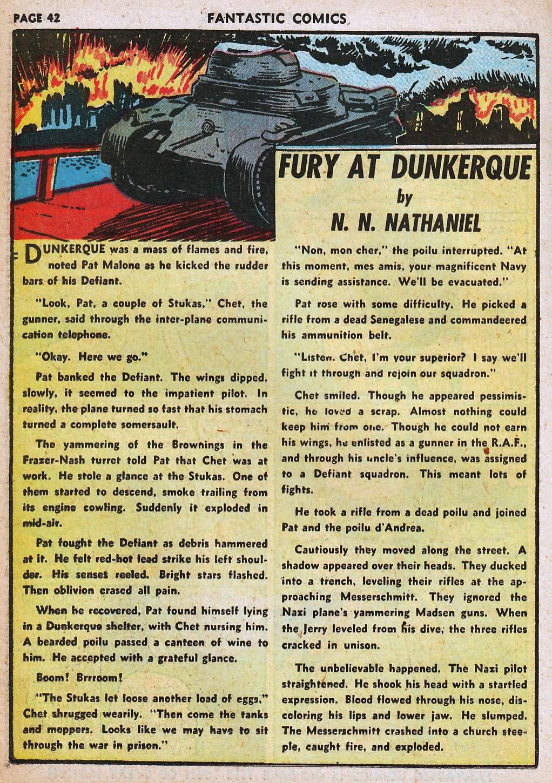 Read online Fantastic Comics comic -  Issue #20 - 42