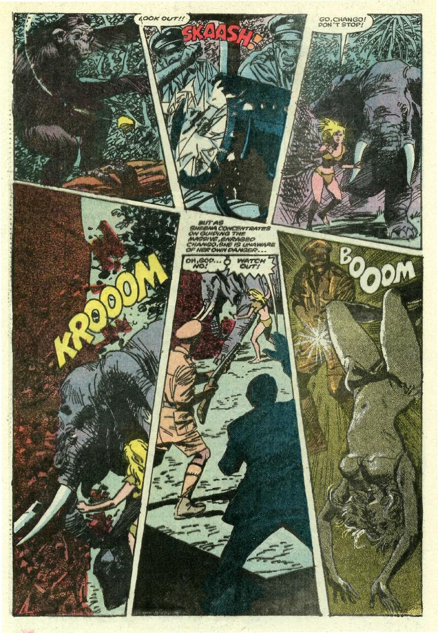 Read online Sheena comic -  Issue #1 - 21