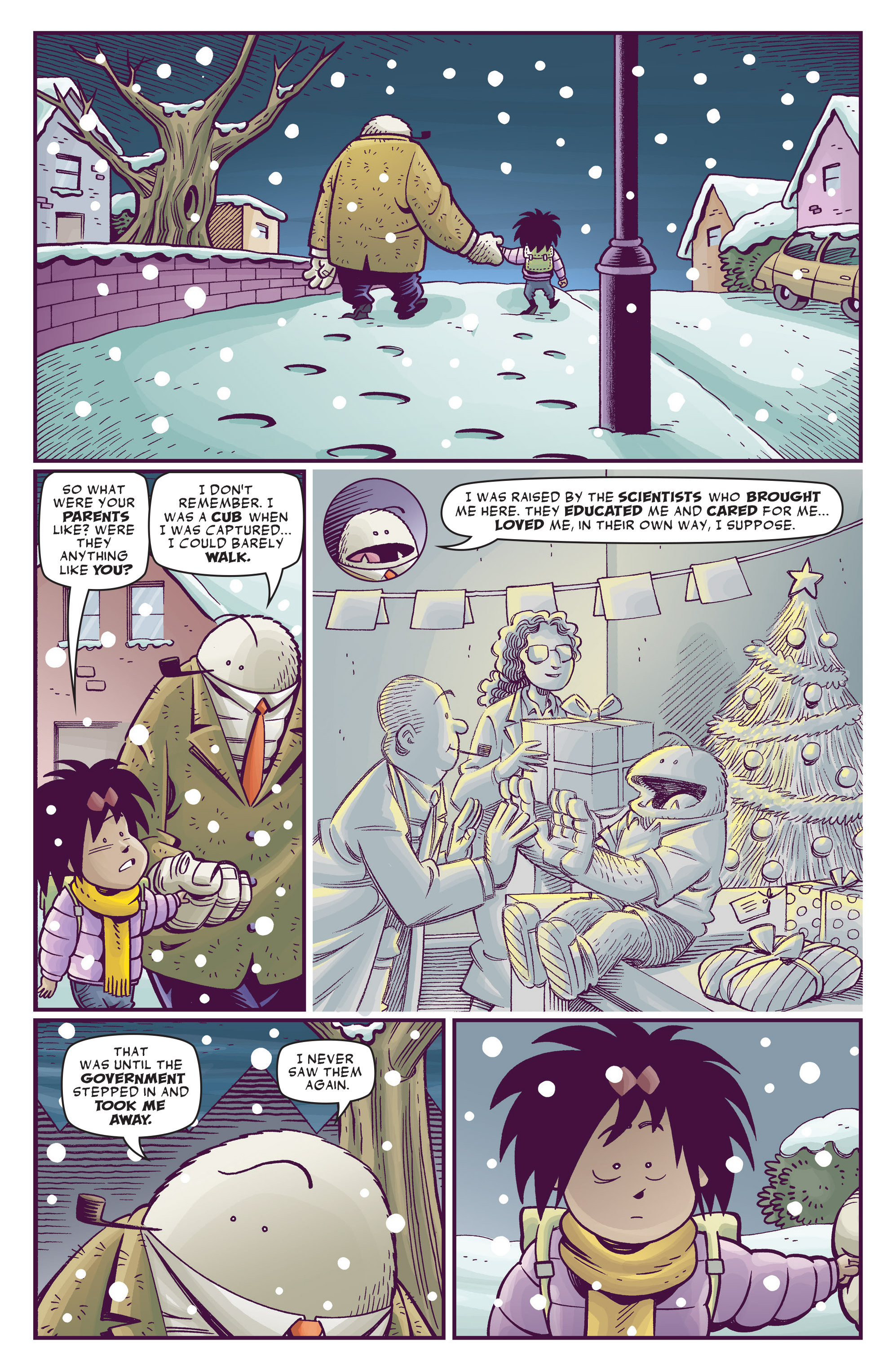 Read online Abigail And The Snowman comic -  Issue #4 - 6