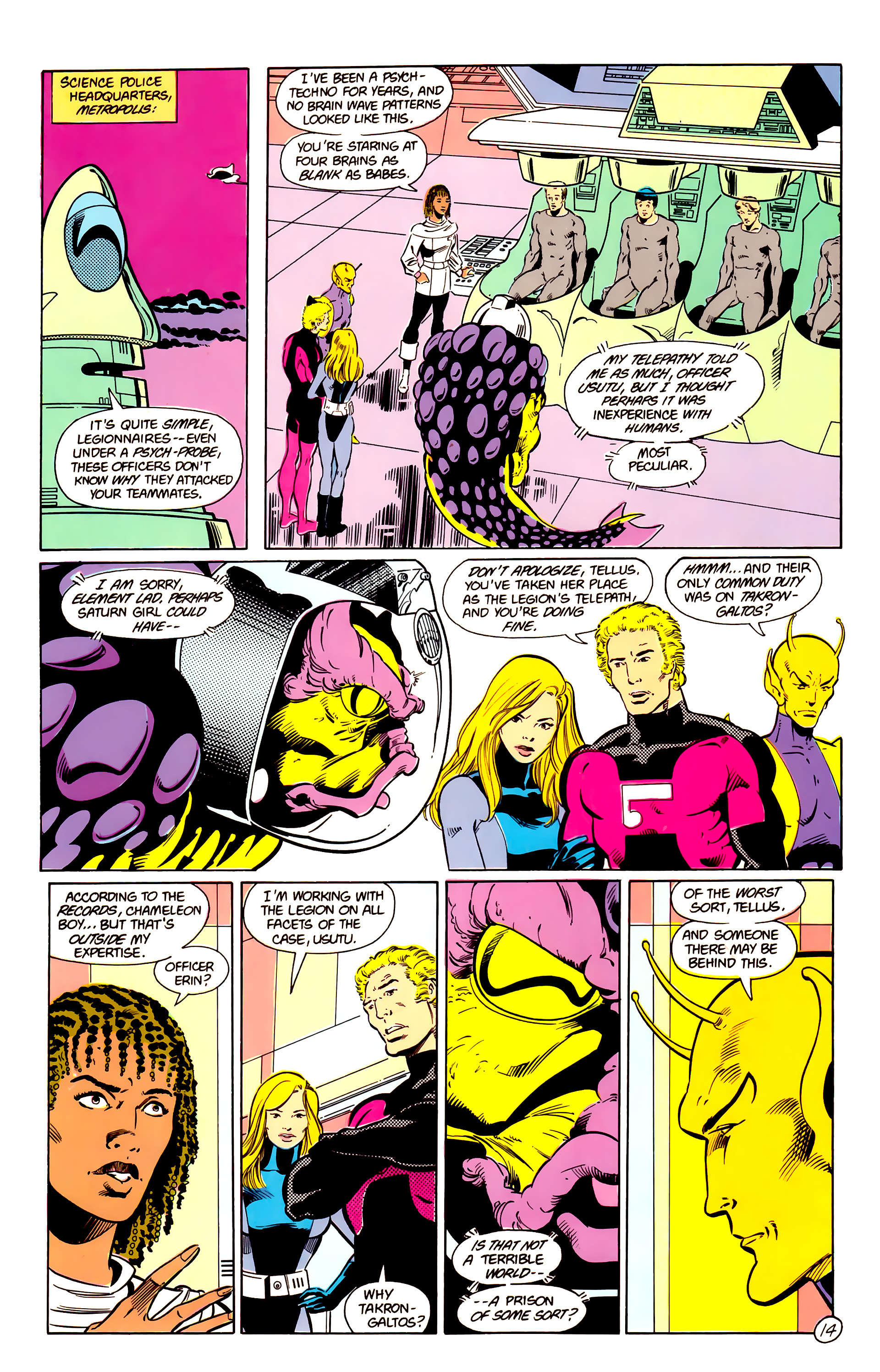 Legion of Super-Heroes (1984) 17 Page 15