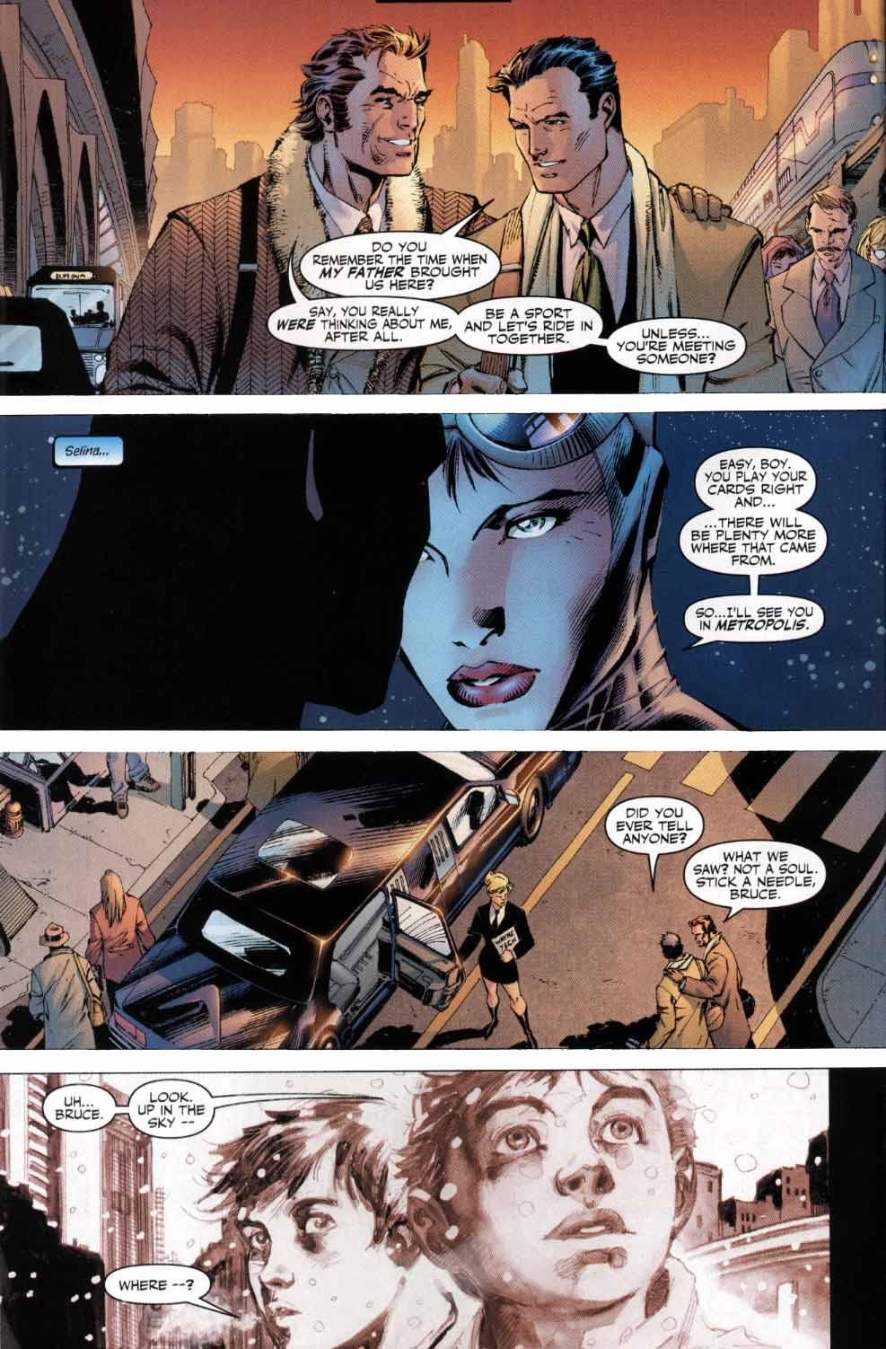 Read online Batman: Hush comic -  Issue #4 - 4