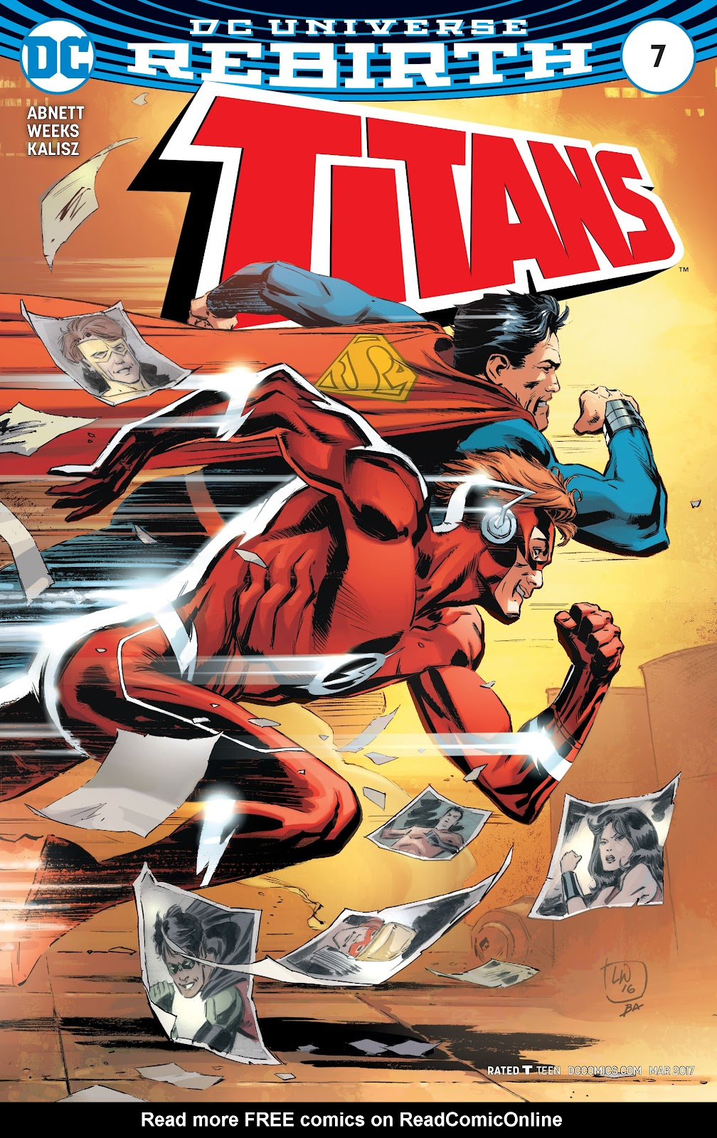 Titans (2016) issue 7 - Page 1