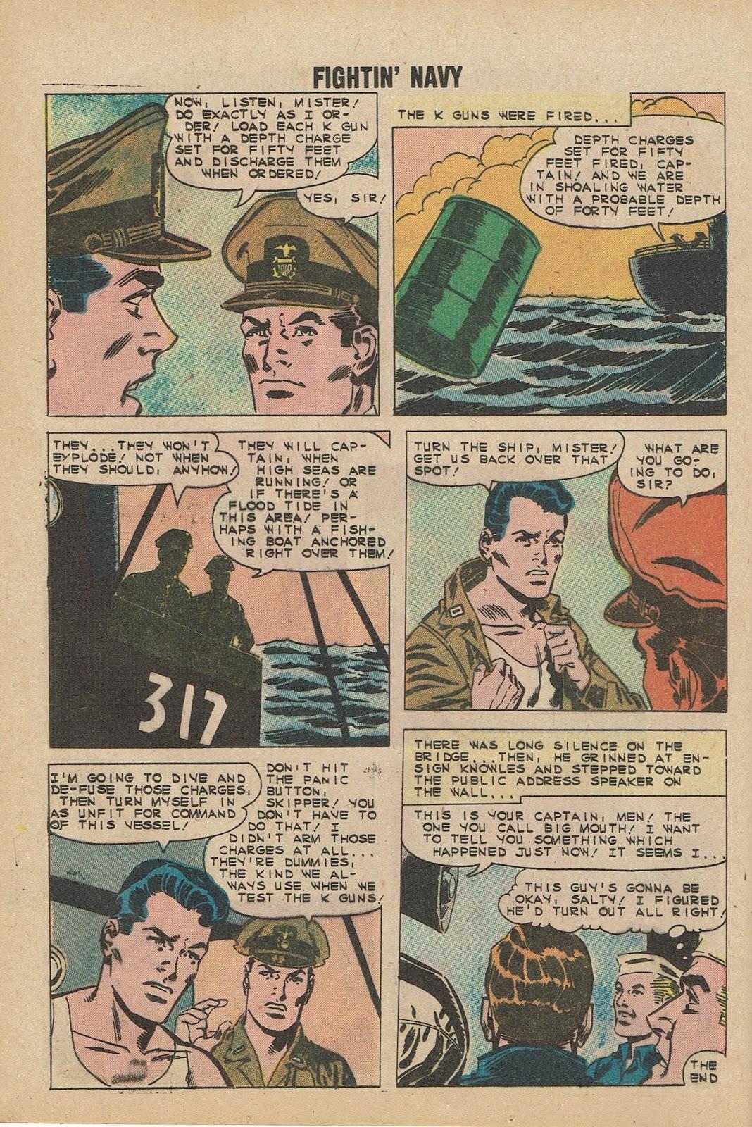 Read online Fightin' Navy comic -  Issue #98 - 24