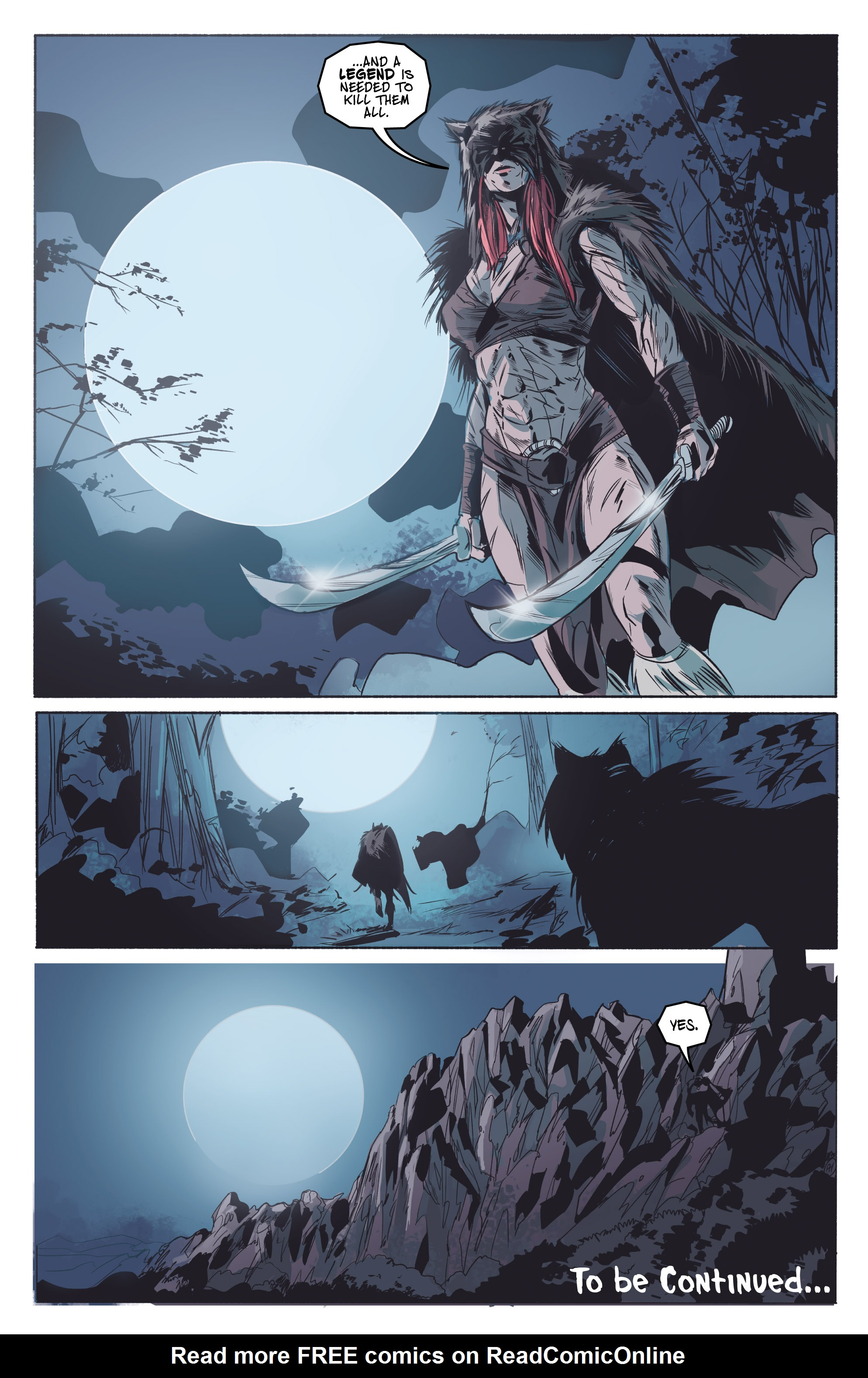 Read online Ghost Wolf comic -  Issue #3 - 26