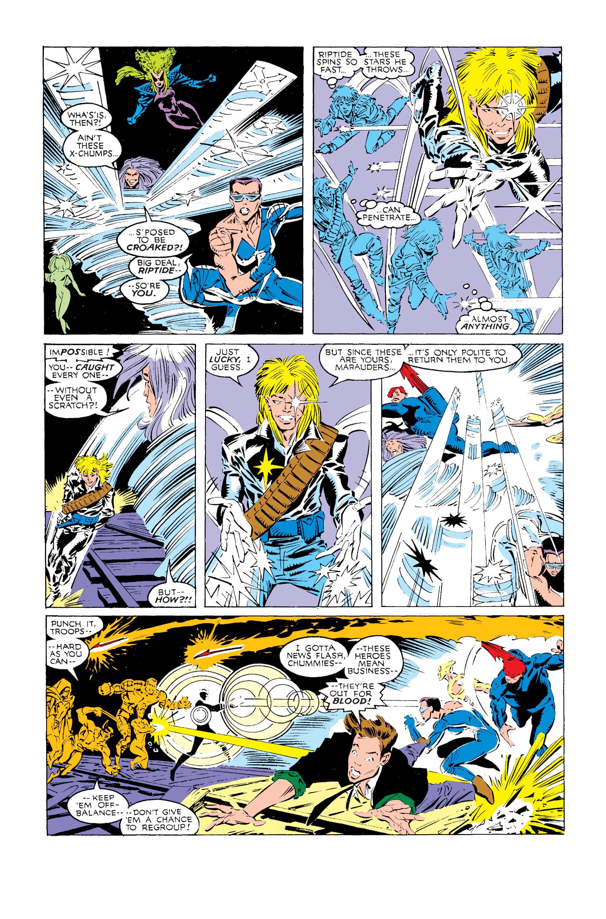 Read online Uncanny X-Men (1963) comic -  Issue #240 - 19