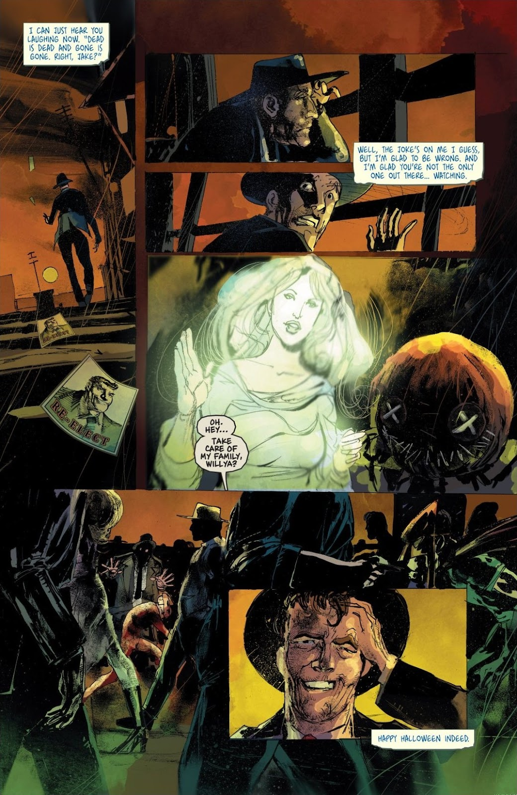 Read online Trick 'r Treat: Days of the Dead comic -  Issue # TPB - 100