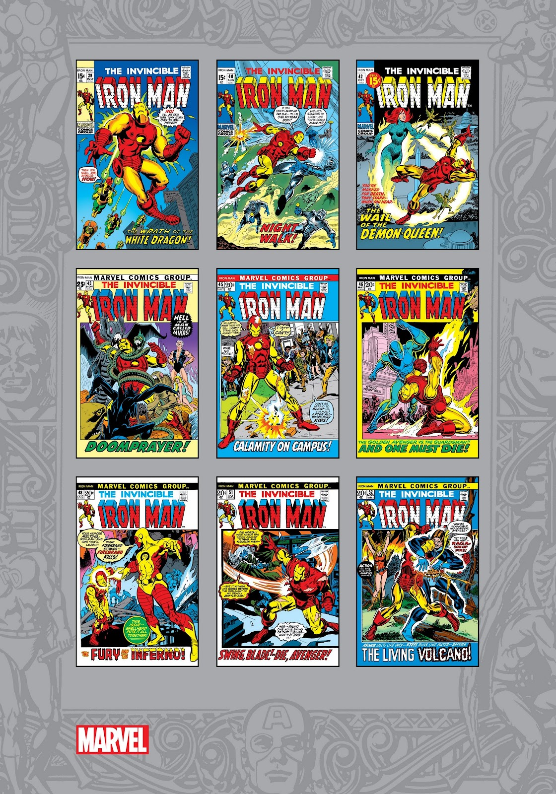 Read online Marvel Masterworks: The Invincible Iron Man comic -  Issue # TPB 8 (Part 3) - 117