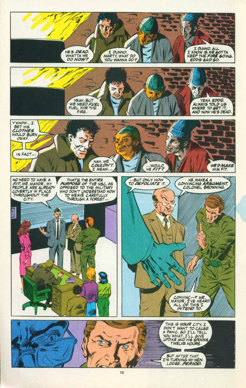 Read online Justice (1986) comic -  Issue #22 - 11