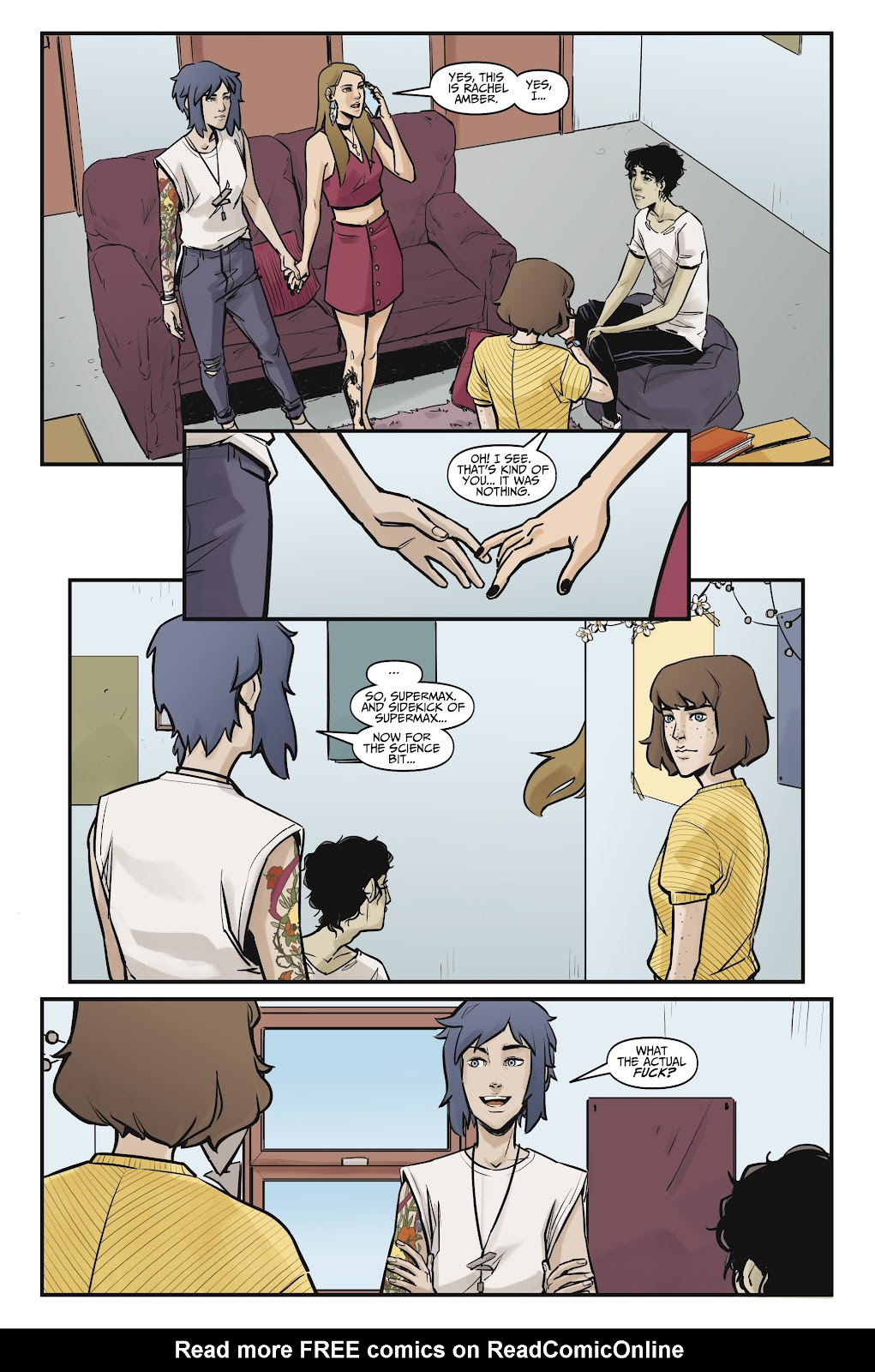 Read online Life is Strange comic -  Issue #9 - 18