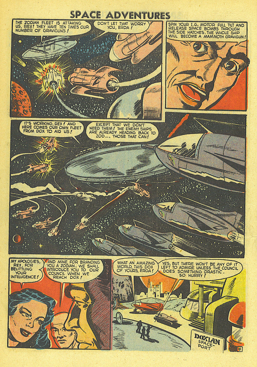 Space Adventures (1952) issue 4 - Page 5