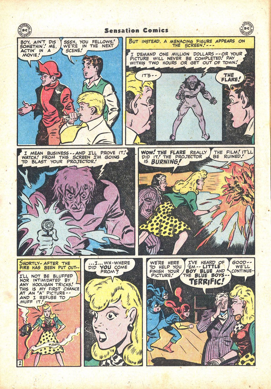 Read online Sensation (Mystery) Comics comic -  Issue #71 - 18