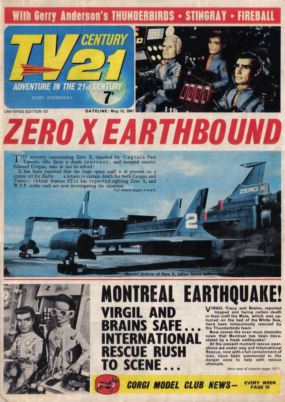 TV Century 21 (TV 21) 121 Page 1