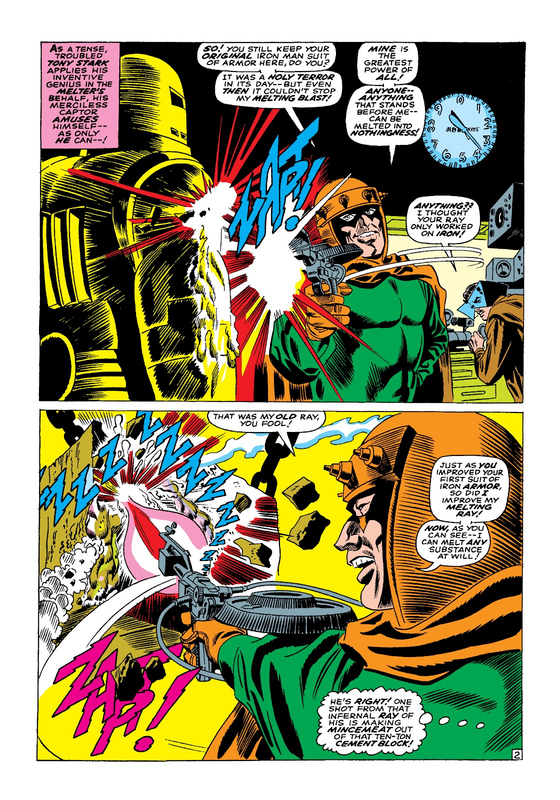 Read online Marvel Masterworks: The Invincible Iron Man comic -  Issue # TPB 4 (Part 1) - 86