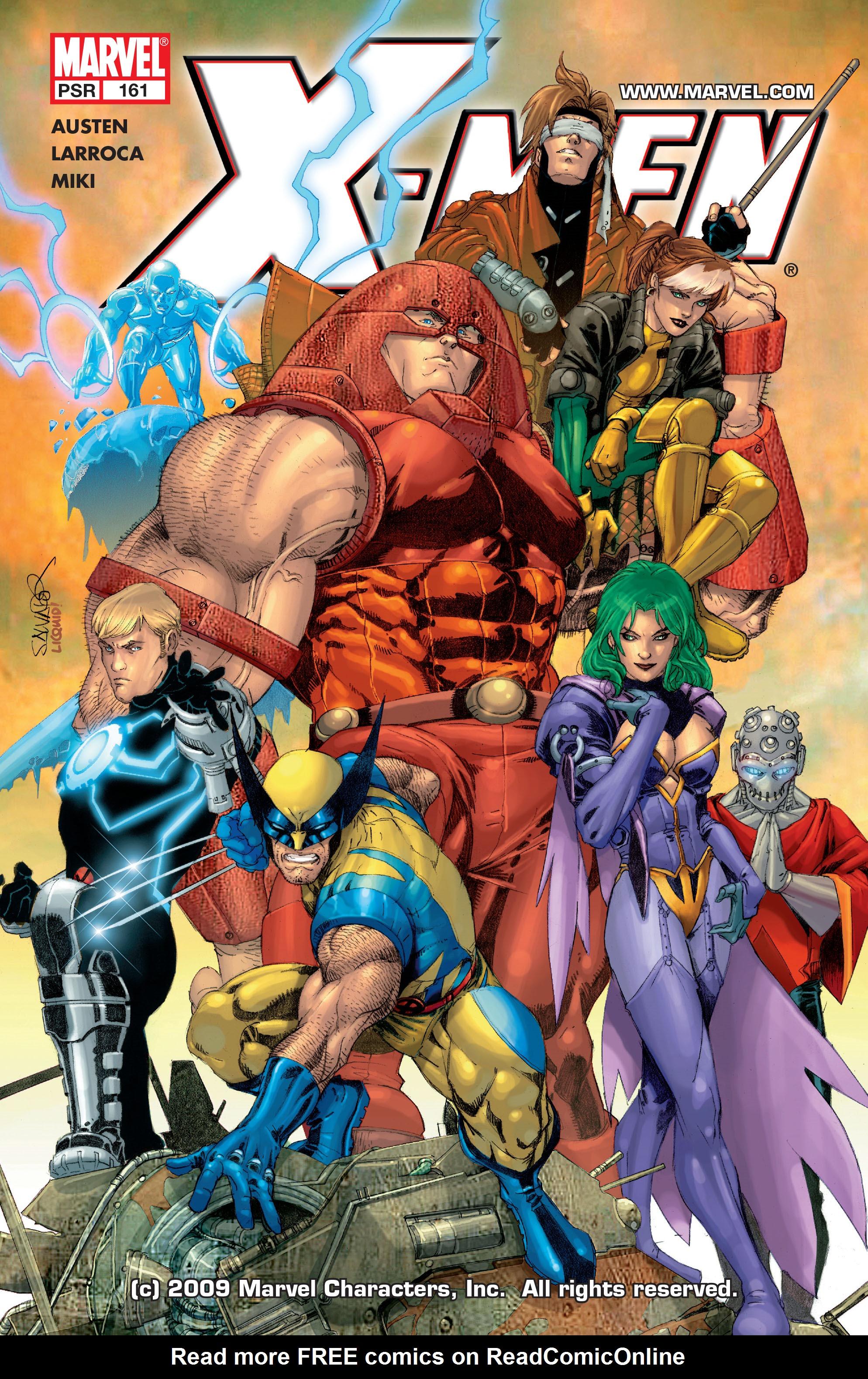 X-Men (1991) 161 Page 0