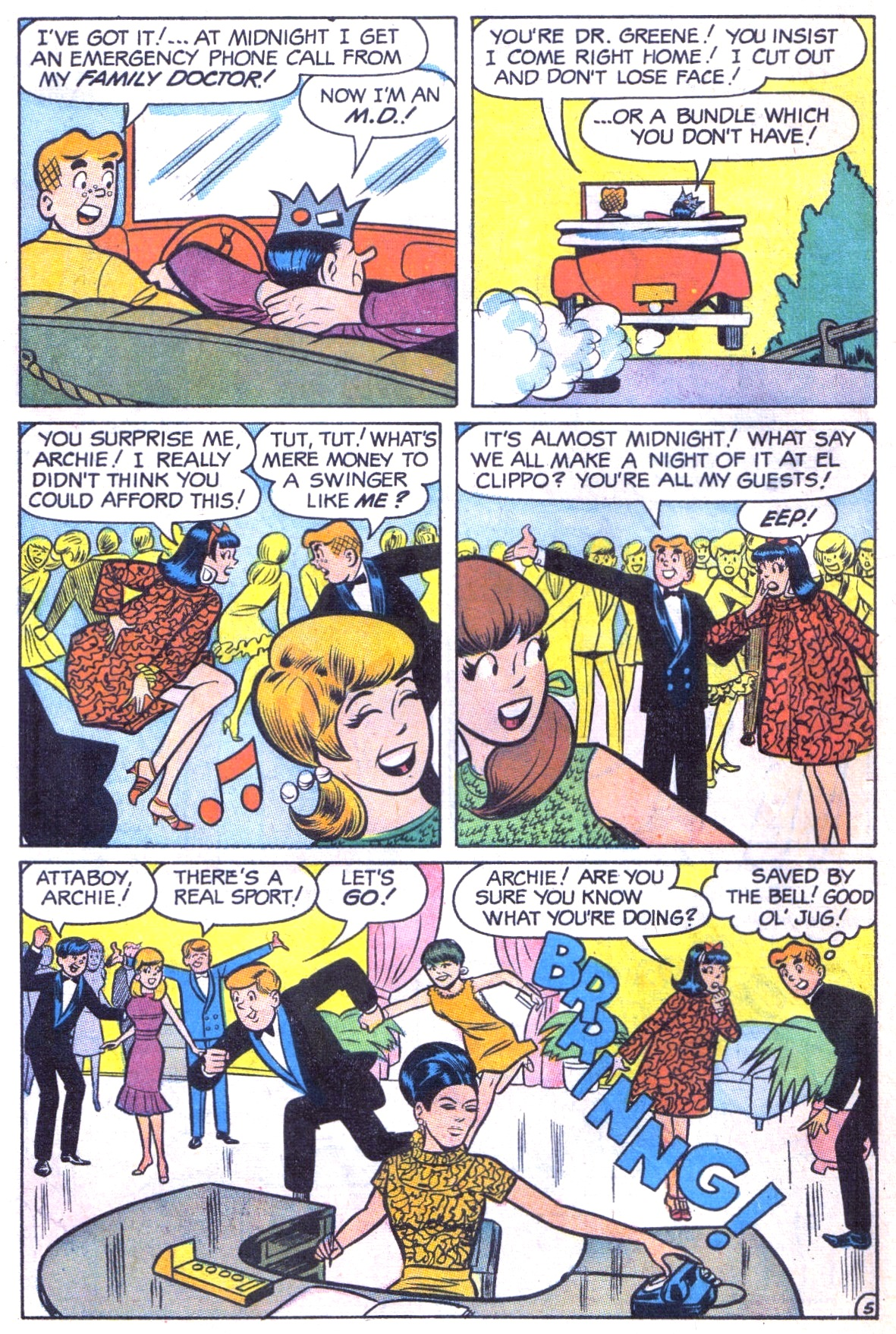 Read online Archie (1960) comic -  Issue #181 - 32