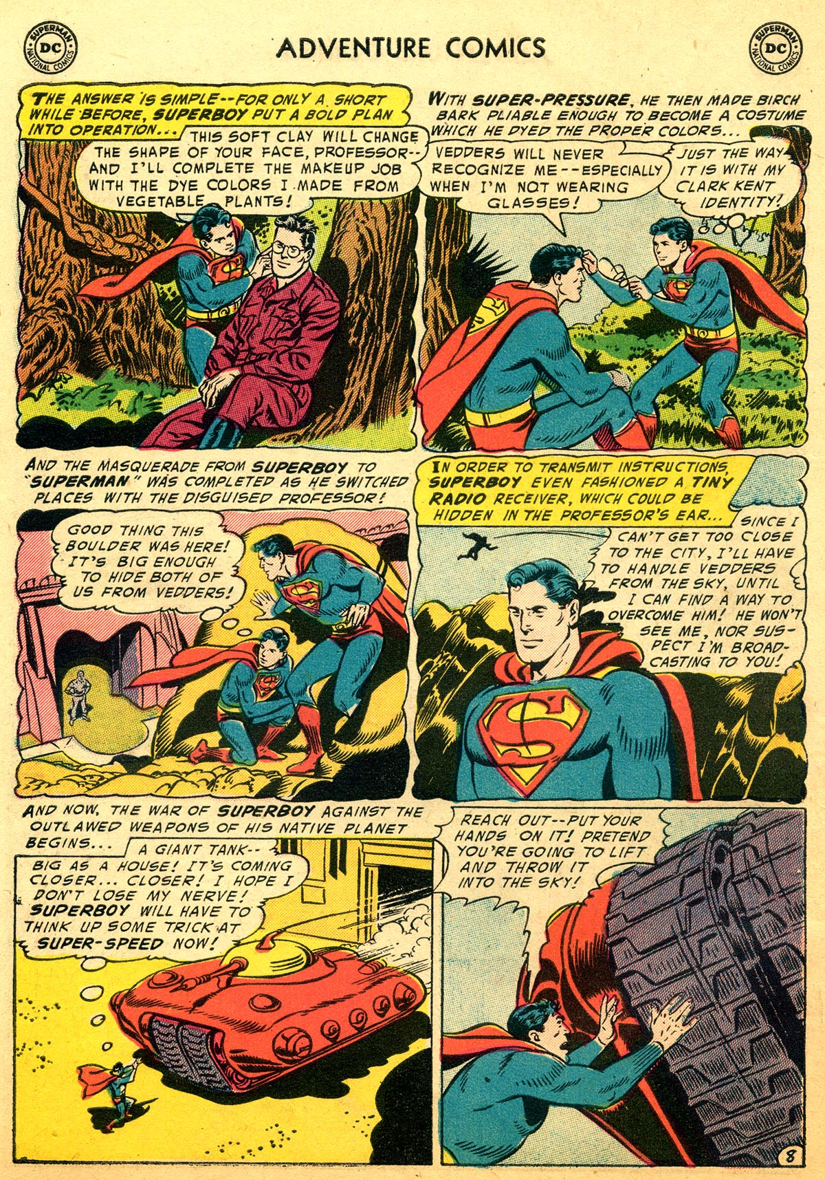 Read online Adventure Comics (1938) comic -  Issue #216 - 10
