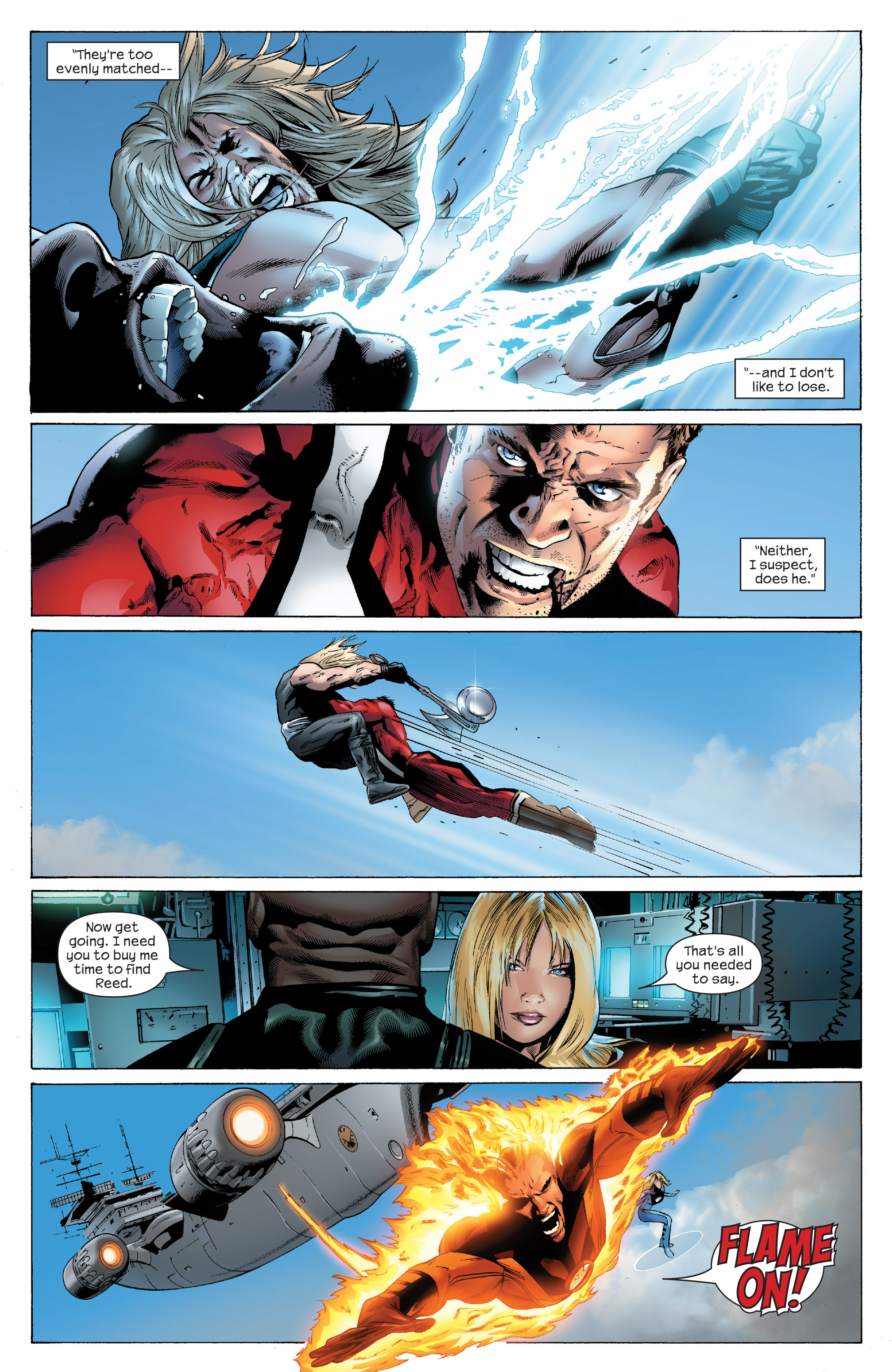 Read online Ultimate Power comic -  Issue #5 - 7