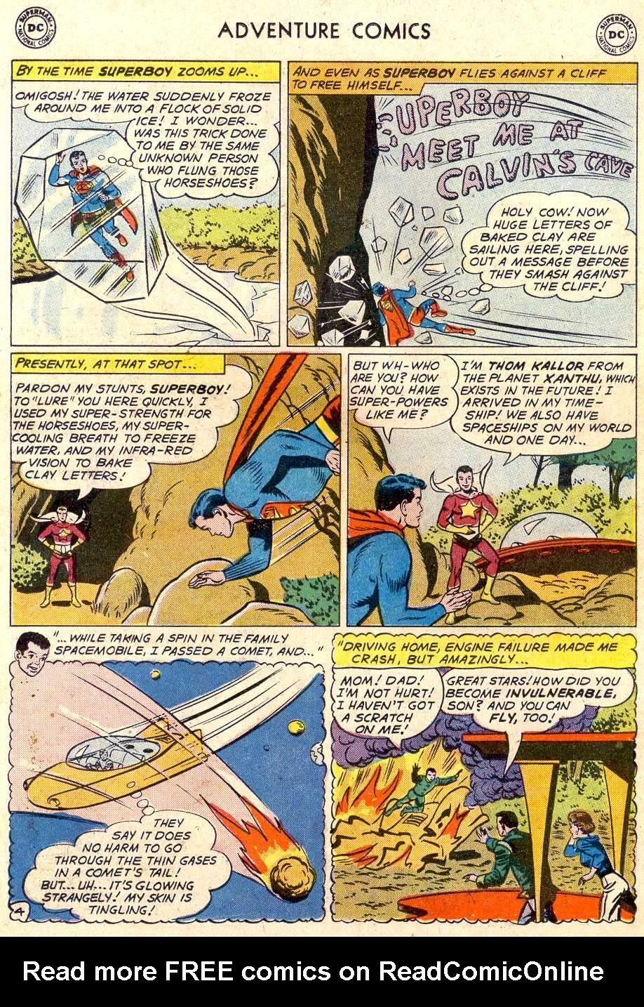 Read online Adventure Comics (1938) comic -  Issue #282 - 6