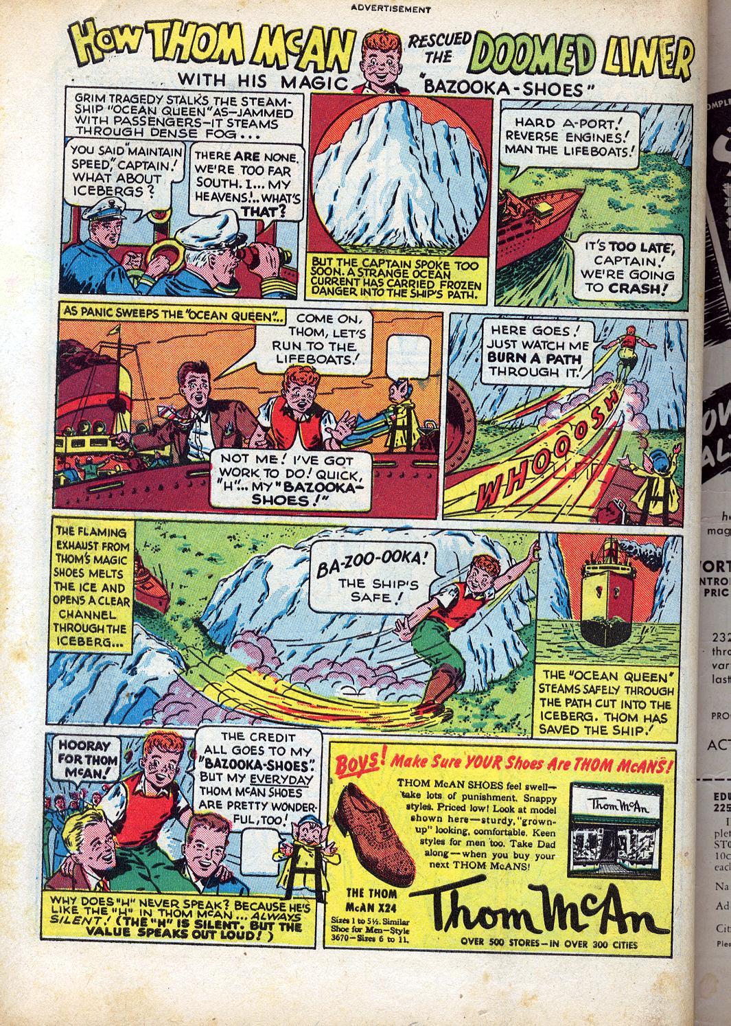 Read online Sensation (Mystery) Comics comic -  Issue #47 - 50
